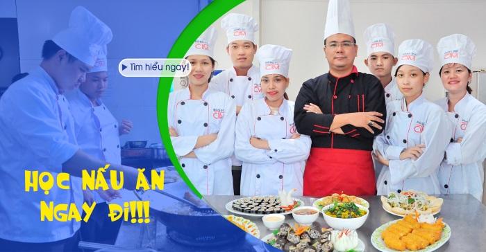Học Nấu ăn – Không lăn tăn thất nghiệp!