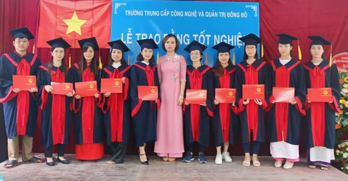 Lễ Tốt nghiệp đợt 2 năm 2018 và Lễ khai giảng Trung cấp Chính quy