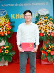 lễ trao bằng tốt nghiệp Trung cấp chính quy đợt 2 năm 2020 ảnh 14 trường Trung cấp Công nghệ và Quản trị Đông Đô