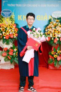lễ trao bằng tốt nghiệp Trung cấp chính quy đợt 2 năm 2020 ảnh 15 trường Trung cấp Công nghệ và Quản trị Đông Đô