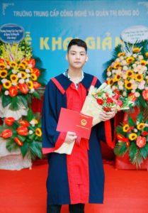 lễ trao bằng tốt nghiệp Trung cấp chính quy đợt 2 năm 2020 ảnh 8 trường Trung cấp Công nghệ và Quản trị Đông Đô