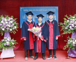 lễ trao bằng tốt nghiệp Trung cấp chính quy đợt 1 năm 2021 ảnh 3 trường Trung cấp Công nghệ và Quản trị Đông Đô