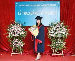 lễ trao bằng tốt nghiệp Trung cấp chính quy đợt 3 năm 2020 ảnh 1 trường Trung cấp Công nghệ và Quản trị Đông Đô